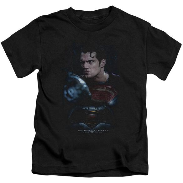 Batman V Superman Super Angry Short Sleeve Juvenile T-Shirt