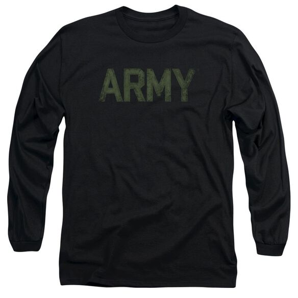 Army Type Long Sleeve Adult T-Shirt