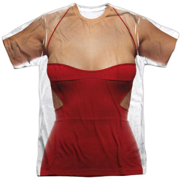 Bsg (New) Red Dress Short Sleeve Adult Poly Crew T-Shirt