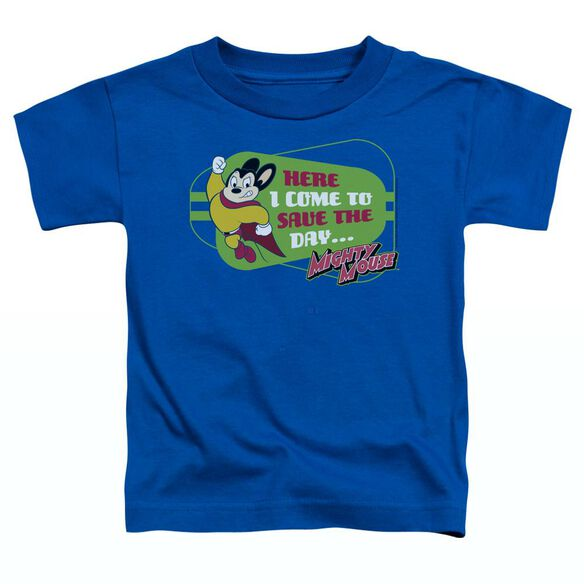 MIGHTY MOUSE HERE I COME-S/S TODDLER T-Shirt