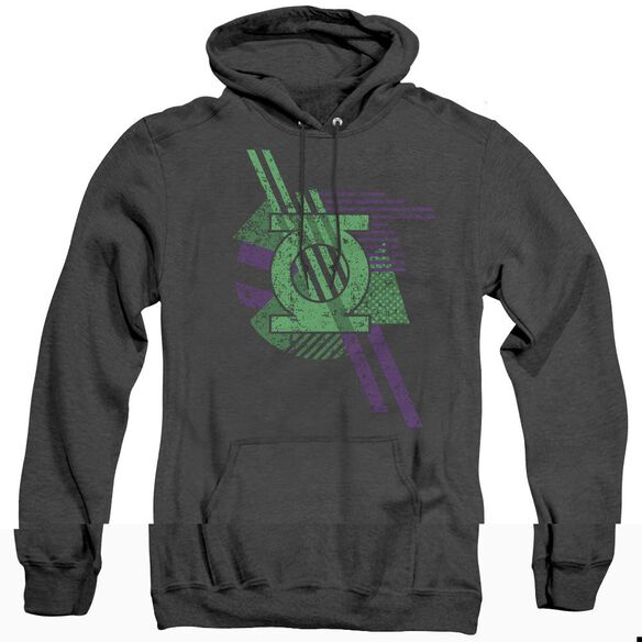 Dco Lantern Shapes - Adult Heather Hoodie - Black