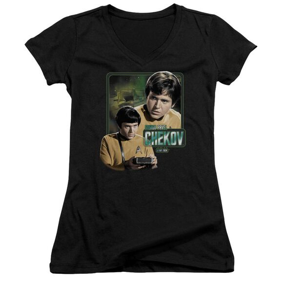 Star Trek Ensign Chekov Junior V Neck T-Shirt