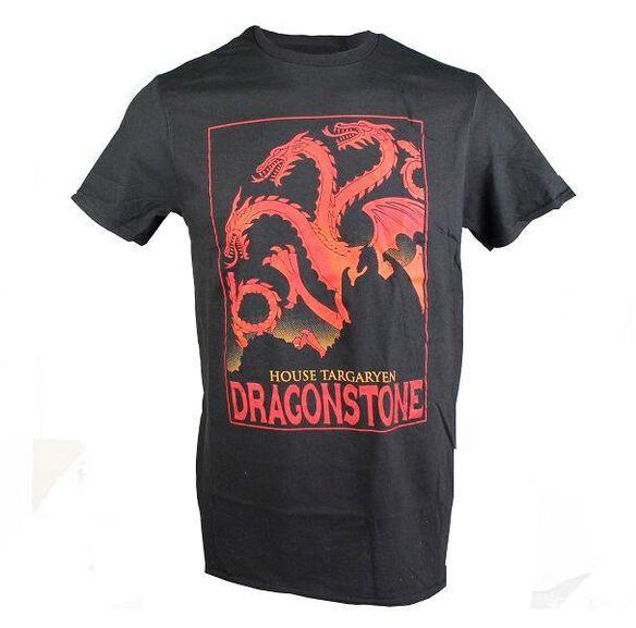 Game of Thrones House Targaryen Dragonstone T-Shirt