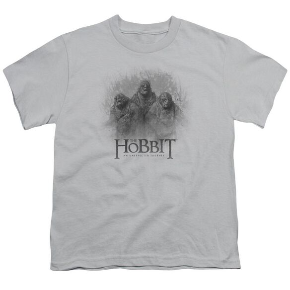 The Hobbit Three Trolls Short Sleeve Youth T-Shirt