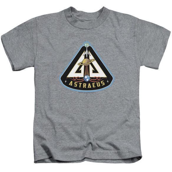 Eureka Astraeus Mission Patch Short Sleeve Juvenile Athletic Heather Md T-Shirt