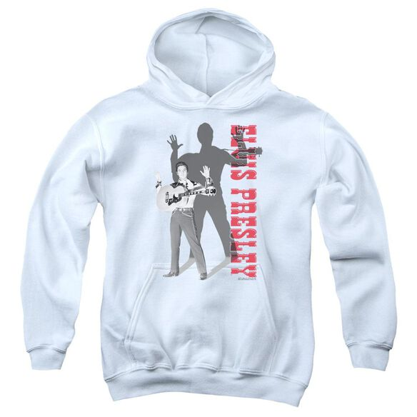 Elvis Look No Hands Youth Pull Over Hoodie