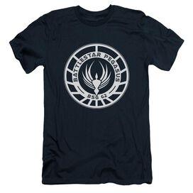 BSG PEGASUS BADGE - S/S ADULT 30/1 - NAVY T-Shirt