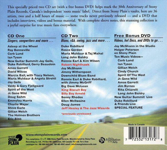 30 Years Of Stony Plain / Various (W/Cd)