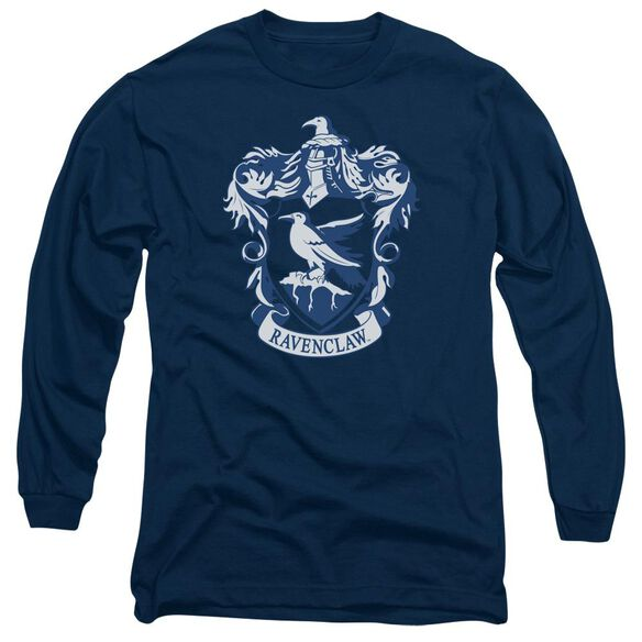 Harry Potter Ravenclaw Crest Long Sleeve Adult T-Shirt