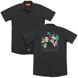 Wham The Edge Of Heaven (Back Print) Adult Work Shirt