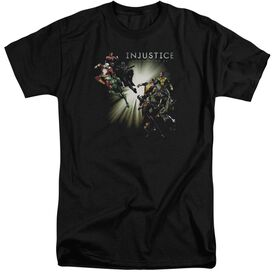Injustice Gods Among Us Good Vs Evils Short Sleeve Adult Tall T-Shirt