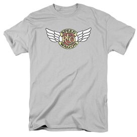Reo Speedwagon Winged Logo Short Sleeve Adult T-Shirt