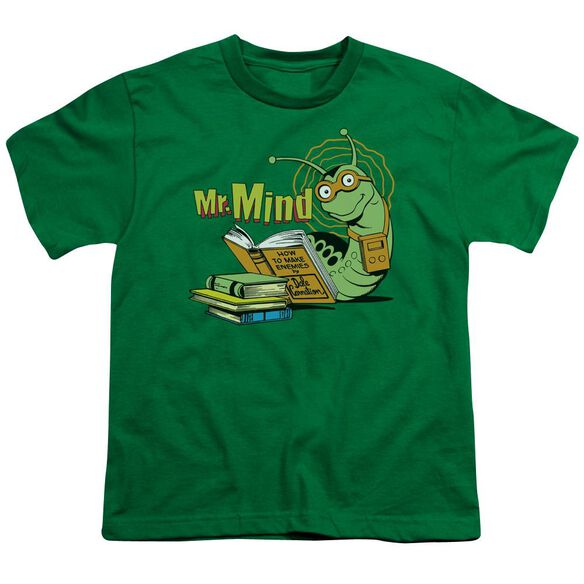 Dc Mr Mind Short Sleeve Youth Kelly T-Shirt