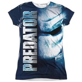 Predator Mask Short Sleeve Junior Poly Crew T-Shirt