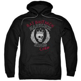 Hardluck Kings Rat Bastards Logo Adult Pull Over Hoodie