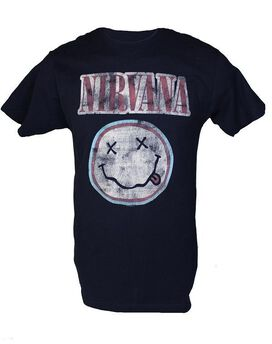 Nirvana Smiley Face Logo T-Shirt