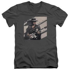 Stevie Ray Vaughan Texas Flood Short Sleeve Adult V Neck T-Shirt