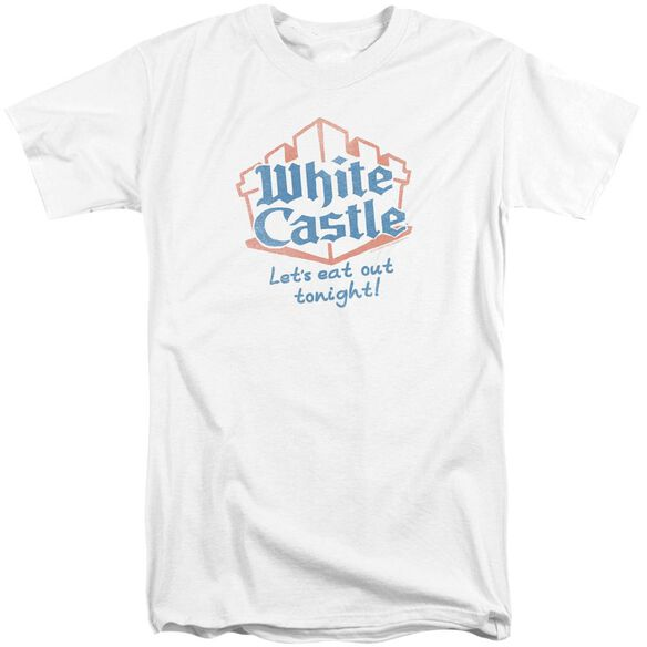Castle Lets Eat Short Sleeve Adult Tall T-Shirt