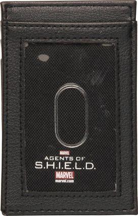SHIELD Metal Badge ID Card Wallet