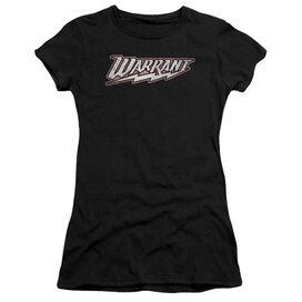Warrant Warrant Logo Short Sleeve Junior Sheer T-Shirt