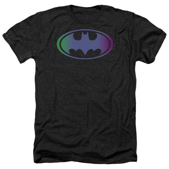 Batman Gradient Bat Logo Adult Heather