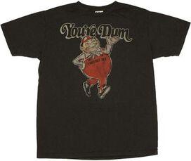 Alice in Wonderland Youre Dum T-Shirt Sheer