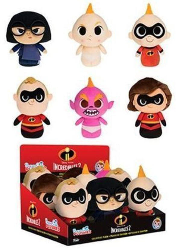 Funko Supercute Plush: Incredibles 2 (One Random Plush Per Purchase)
