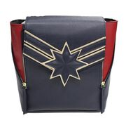 Captain Marvel Logo Mini Backpack, , large