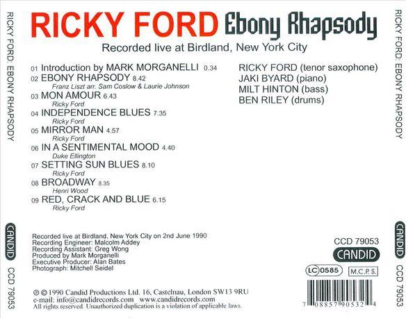 Ebony Rhapsody