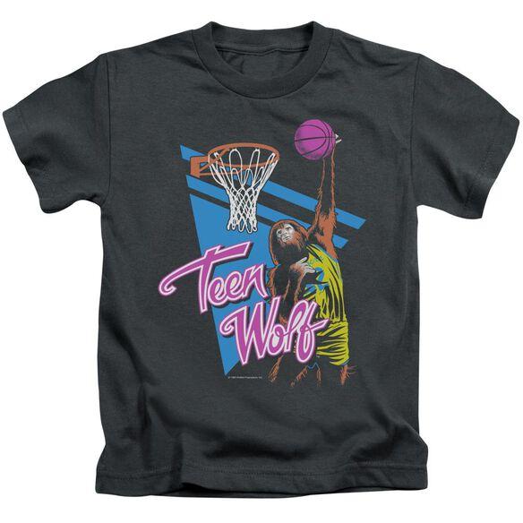 Teen Wolf Slam Dunk Short Sleeve Juvenile T-Shirt