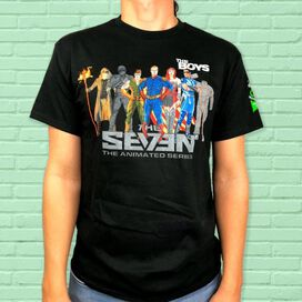 The Seven The Animated Series T-Shirt [ECCC Exclusive]