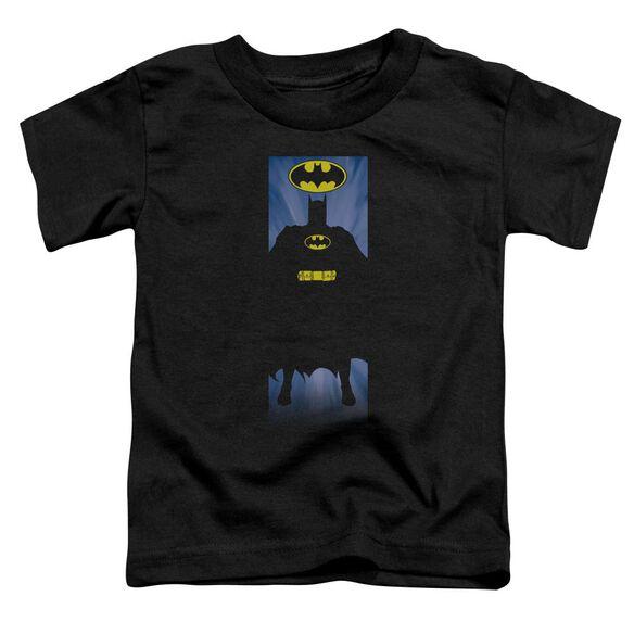 Batman Batman Block Short Sleeve Toddler Tee Black T-Shirt