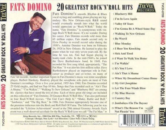 20 Greatest Rock N Roll Hits