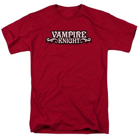 Vampire Knight Vampire Knight Short Sleeve Adult Cardinal T-Shirt