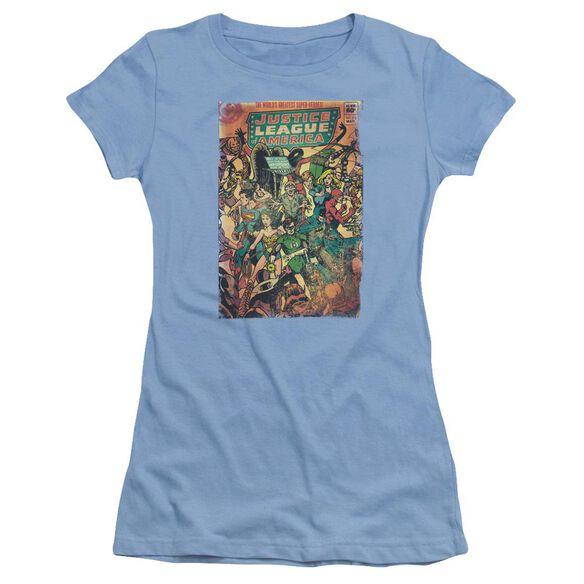 Jla No 212 Vintage Short Sleeve Junior Sheer Carolina T-Shirt