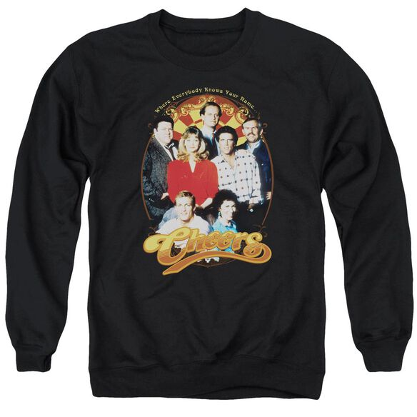 Cheers Group Shot Adult Crewneck Sweatshirt