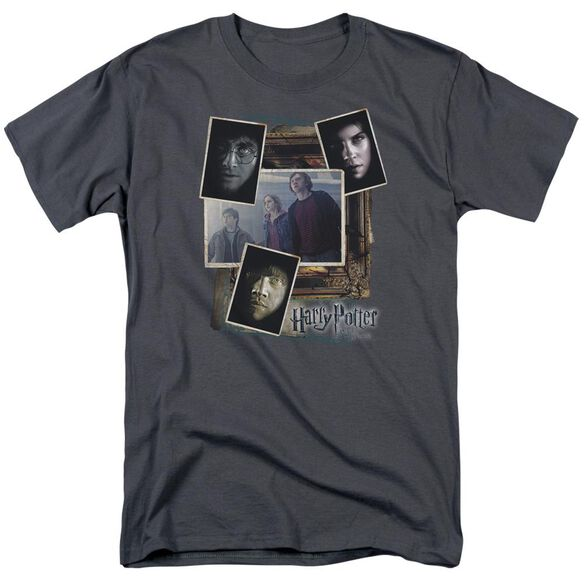 Harry Potter Trio Collage Short Sleeve Adult T-Shirt