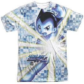 Astro Boy Beams Short Sleeve Adult Poly Crew T-Shirt