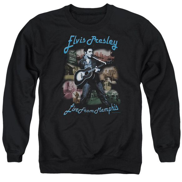 Elvis Memphis Adult Crewneck Sweatshirt
