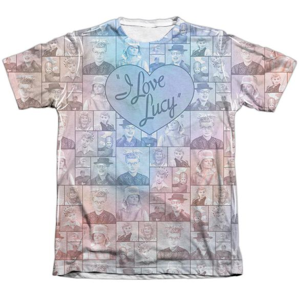 I Love Lucy Many Moods Adult Poly Cotton Short Sleeve Tee T-Shirt