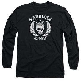 Hardluck Kings Logo Long Sleeve Adult T-Shirt