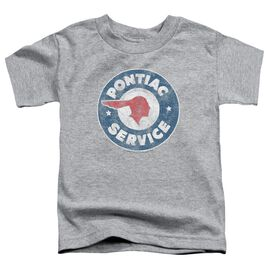 Pontiac Vintage Pontiac Service Short Sleeve Toddler Tee Athletic Heather T-Shirt