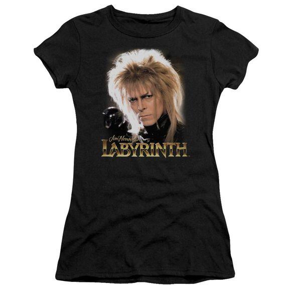 Labyrinth Jareth Short Sleeve Junior Sheer T-Shirt