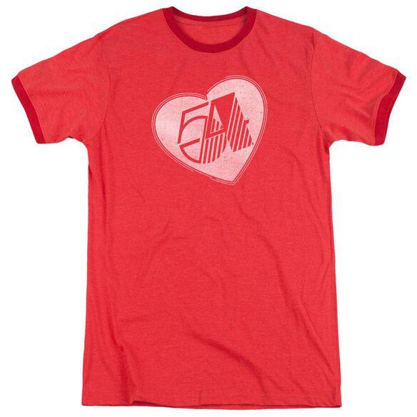 Studio 54 I Heart Studio 54 Adult Ringer Red