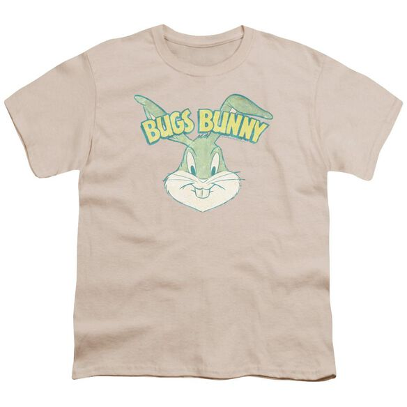 Looney Tunes Bugs Head Short Sleeve Youth T-Shirt
