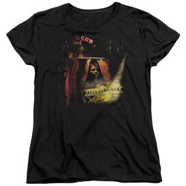 MIRRORMASK BIG TOP POSTER - S/S WOMENS TEE - BLACK T-Shirt