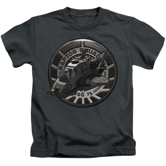 BSG RAPTOR SQUADRON - S/S JUVENILE 18/1 - CHARCOAL - T-Shirt