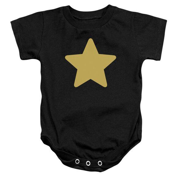 Steven Universe Greg Star Infant Snapsuit Black