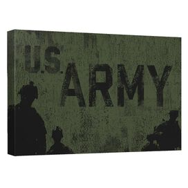 Army Strong Quickpro Artwrap Back Board