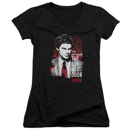 Dexter Boy Next Door Junior V Neck T-Shirt